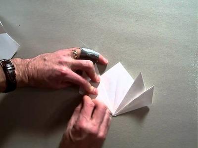 Origami lotus flower bookmark.MOV