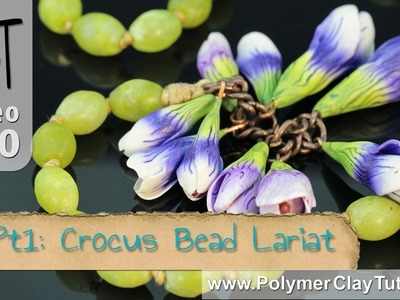 Polymer Clay Crocus Bead Lariat Project (Intro)