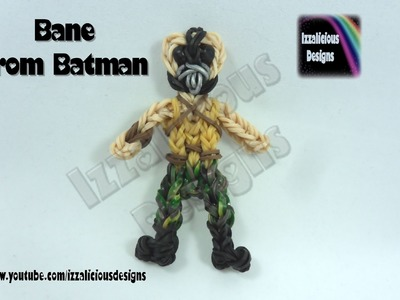 Rainbow Loom (Batman Series) Bane Action Figure.Charm - © Izzalicious Designs 2014
