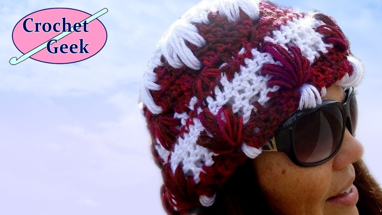 Splash Crochet Hat - Crochet Geek
