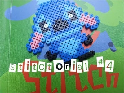Stitctorial #4 : How to make stitch using mini hama beads?