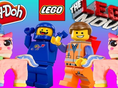The LEGO Movie Unikitty Play Doh Characters Do It Yourself Play Dough Tutorial Disney Cars Toy Club