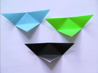 Triangular Modular Origami Box