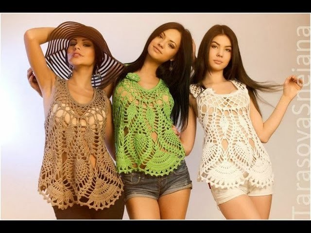 (17) Lace Crochet Clothes Dress Models Patterns Designs New Fashion