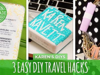 3 Easy DIY Travel Hacks - HGTV Handmade