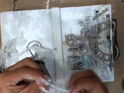 Altered Vintage Book Class - Prima Printery Art Journal