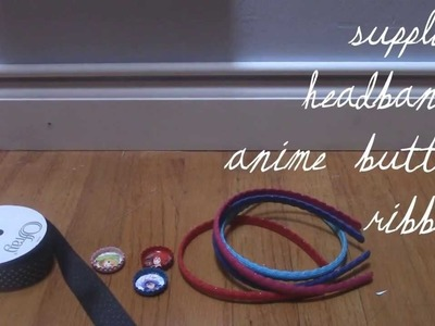 Anime Decorations DIY : Free!.Anime Headbands