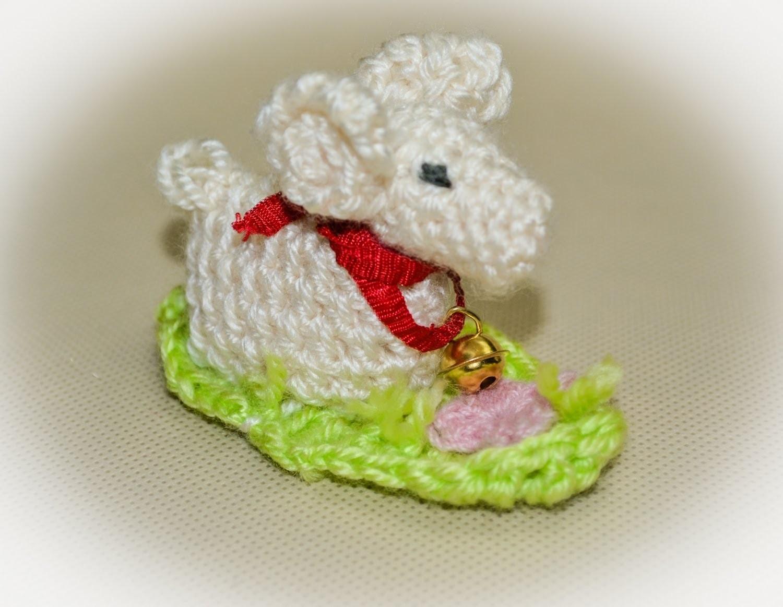 Baranek Wielkanocny na szydełku. Lamb Easter crochet