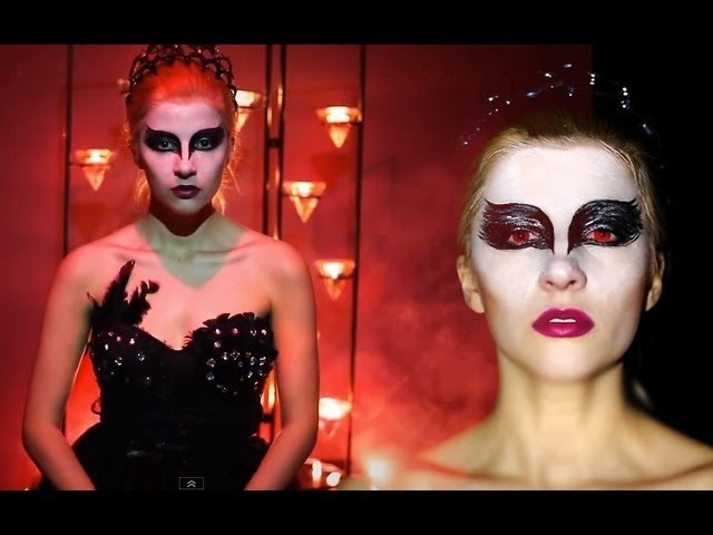 BLACK SWAN COSTUME DIY & DANCE BATTLE