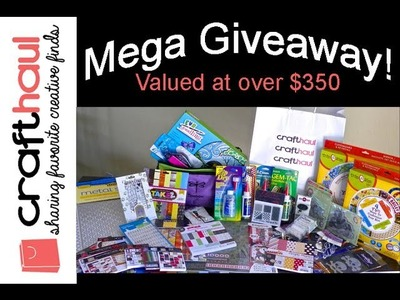 Craft Mega Haul Giveaway from CraftHaul