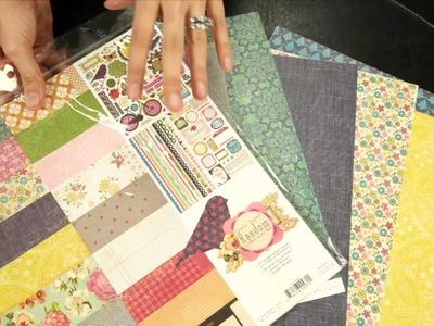 Crate Paper - Random Scrapbook Collection