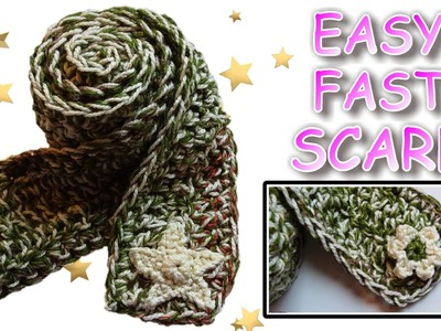Crochet a Scarf - Easy, Fast, Warm!
