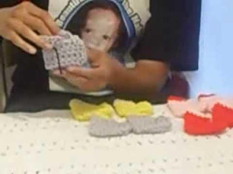 Crochet Baby Booties!!
