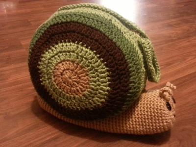 #Crochet Bag #Snail Pillow #Purse #TUTORIAL PART 3 of 3 CROCHET BAG