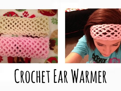 Crochet Ear Warmer Tutorial (EASY)