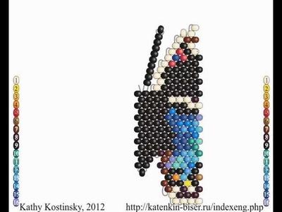 Disk with 25 Beading Cartoons By Katherina Kostinsky