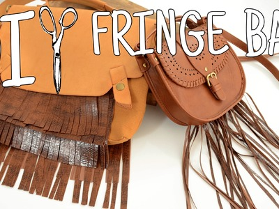 DIWhyNot: DIY Fringe Bag