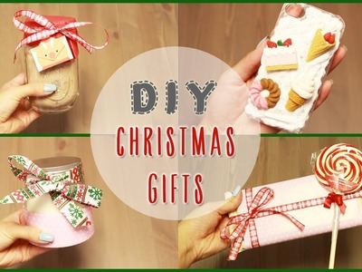 DIY: 5 Easy, DIY Christmas Gift Ideas | ilikeweylie
