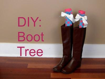 DIY: Boot Trees