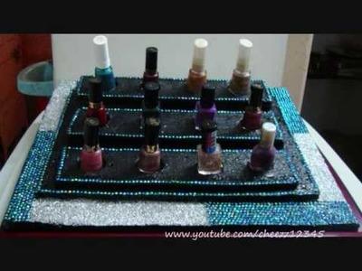DIY: Nail polish tray