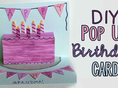 DIY Pop-Up Birthday Card