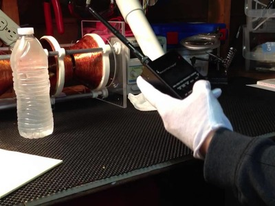 DIY structured vortex water device with test