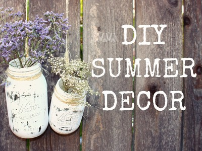 DIY Summer Decor | Collaboration w. Emily Clarke