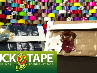 Duck Tape Crafts: How to Make a Woven Purse