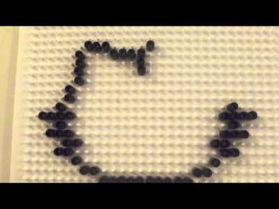 Hello Kitty Perler Beads Tutorial