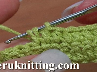 How to Half Double Crochet Crochet Basics Tutorial 9