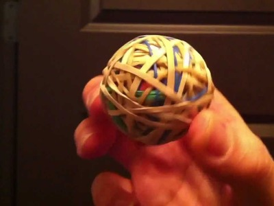 HOW TO MAKE AN ELASTIC BAND BALL