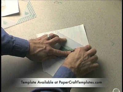 How to Make an Envelope out of Wrapping Paper Without Scissors or Tracing