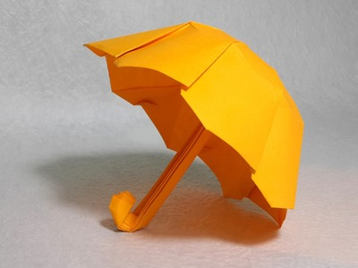 How to make an origami umbrella (Henry Phạm)