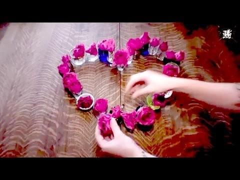 How to Make Your Bedroom Romantic, Meg's Valentine's Day Decor it Yourself Special, Threadbanger