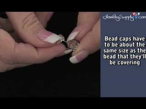 How to use a Bead Cap - Beading