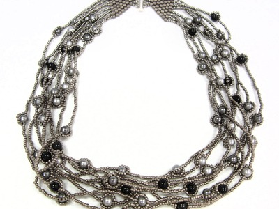 Jewel School Kit Project: River of Pearls Necklace