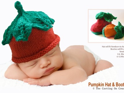 KNIT THIS CUTE BABY HAT WITH DECORATIVE LACE LEAVES TO THE CROWN - Knitting Pattern Tutorial Part 2