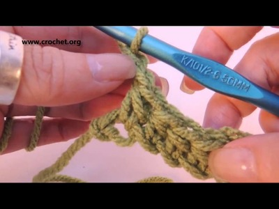 Learn to Crochet: Half Double Crochet (hdc) Right Handed