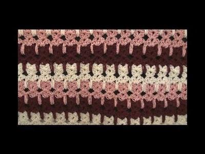 Left Hand Crochet Abstract Cats Crochet Geek