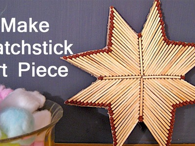 Matchstick Craft Ideas For Kids - Matchstick Star Craft Idea | Kids Craft Workshop #10