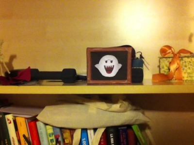 Papercraft - Boo ( from super mario ) always looking you!!!