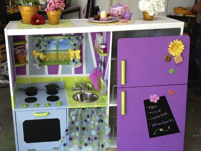 PART ONE Toddlers DIY Play Kitchen - DIY by Tanya Memme (As Seen On Home & Family)