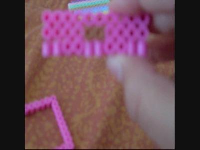 Perler beads:making a dresser