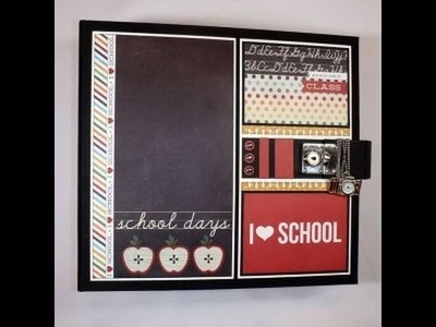 Retrospection 365  School Days Scrapbook