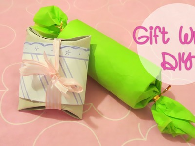 [Sunny DIY] Toilet Paper Roll Gift Wrap