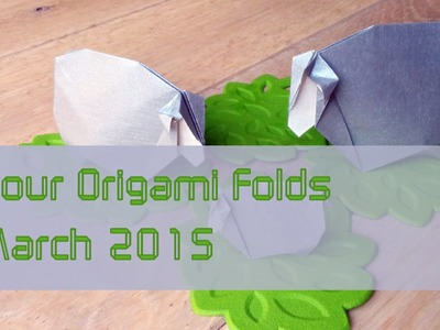 "Your Origami Folds March 2015: ""Sheep"" by Román Díaz"