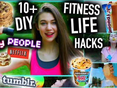 10+ DIY Fitness Life Hacks for LAZY PEOPLE you NEED to Know!