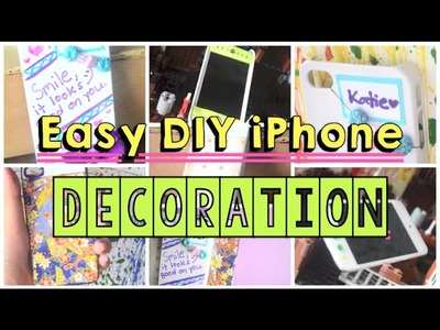 ♡ 7 Easy DIY iPhone Customization Ideas | AlohaKatie ♡