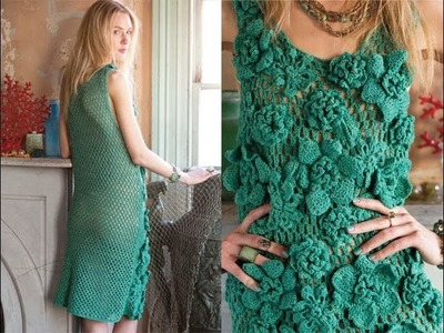 #7 Tank Dress, Vogue Knitting Crochet 2014