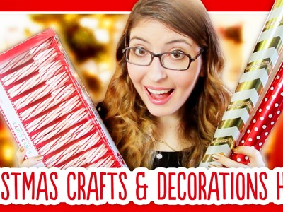 Christmas Craft Supply and Decorations Haul 2014